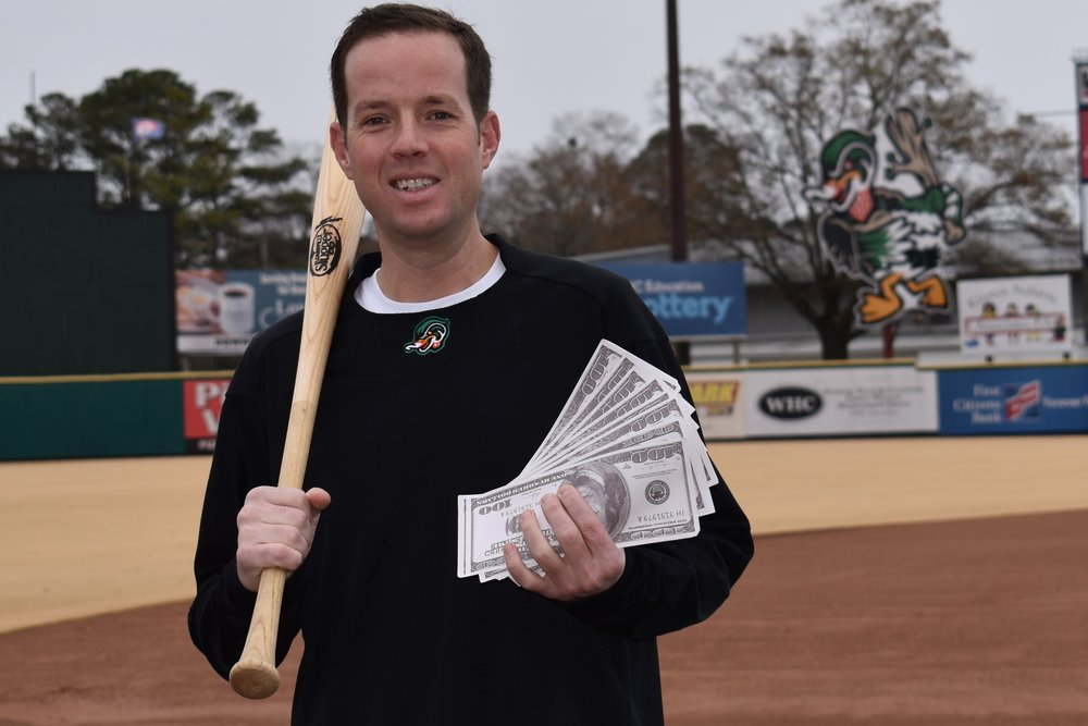 Down East Wood Ducks sales director Jon Clemmons will be a celebrity dealer at the Lenoir Community College Foundation's Casino Night on Jan. 25. Submitted photo