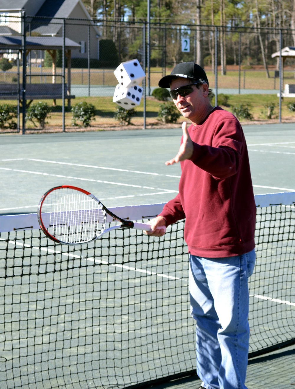 Greene Ridge Racquet Club owner Bobby Taylor will be a celebrity dealer at the Lenoir Community College Foundation's Casino Night on Jan. 25. Submitted photo