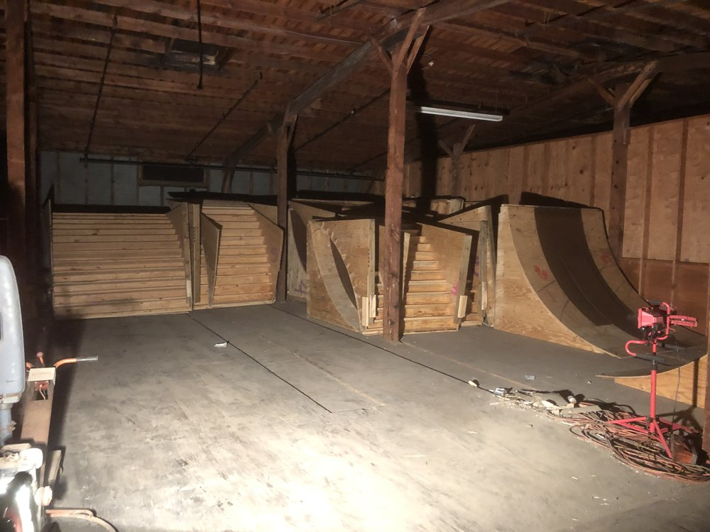 Dismantled ramps in storage in Kinston  Submitted Photo