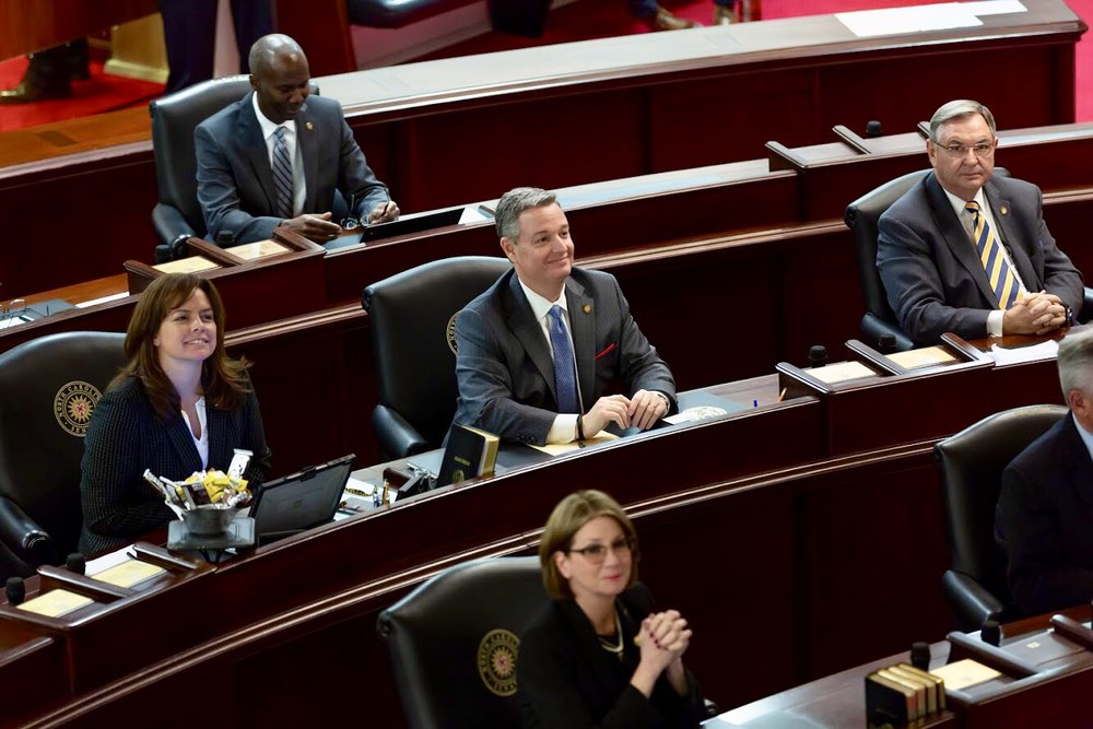 Senator Jim Perry in the NC Senate Chamber Submitted Photo