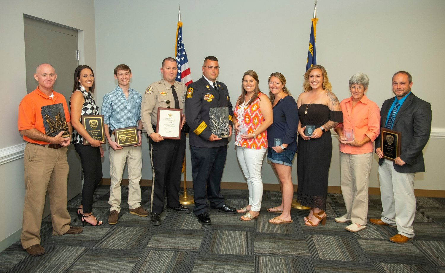 Heroes honored at Emergency Services banquet — Neuse News