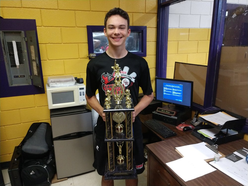 Frink eighth-grader wins national baseball competition