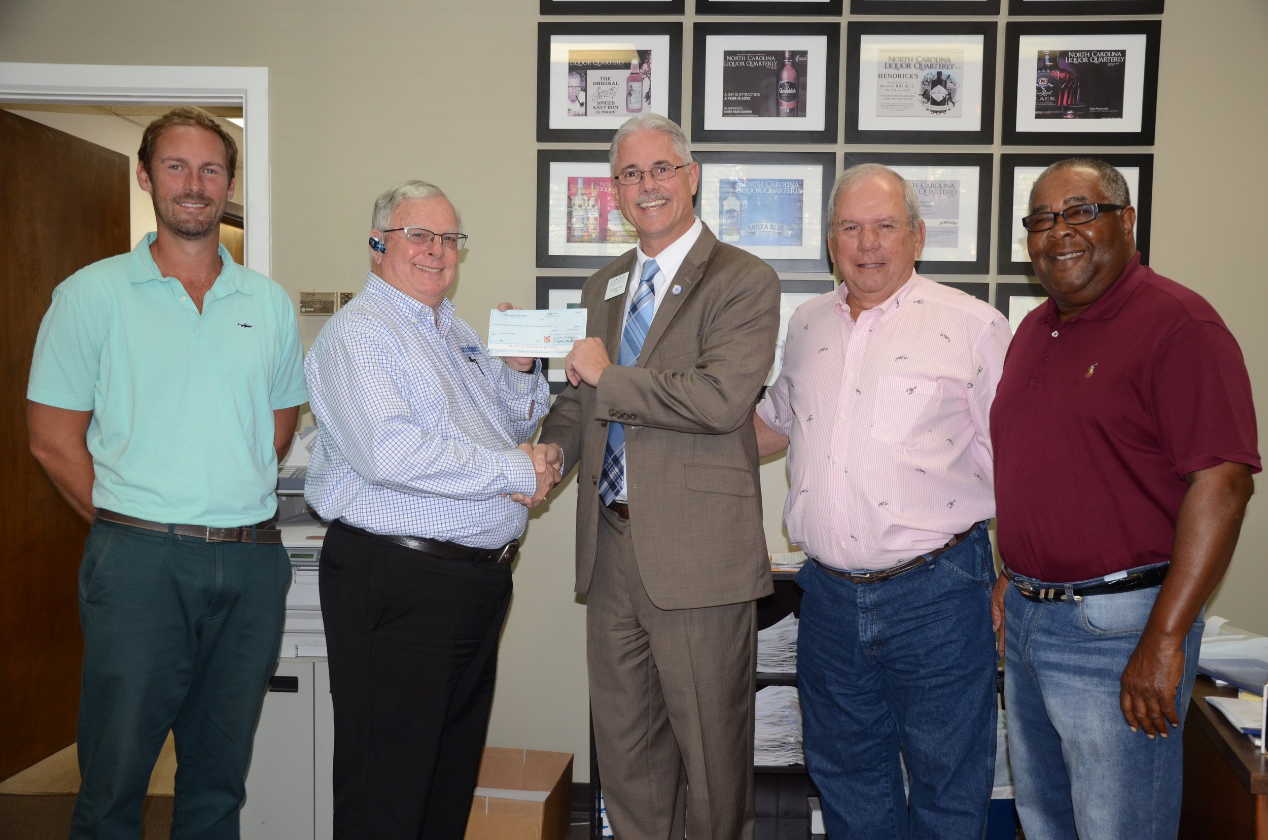 County ABC Board presents check for alcohol awareness