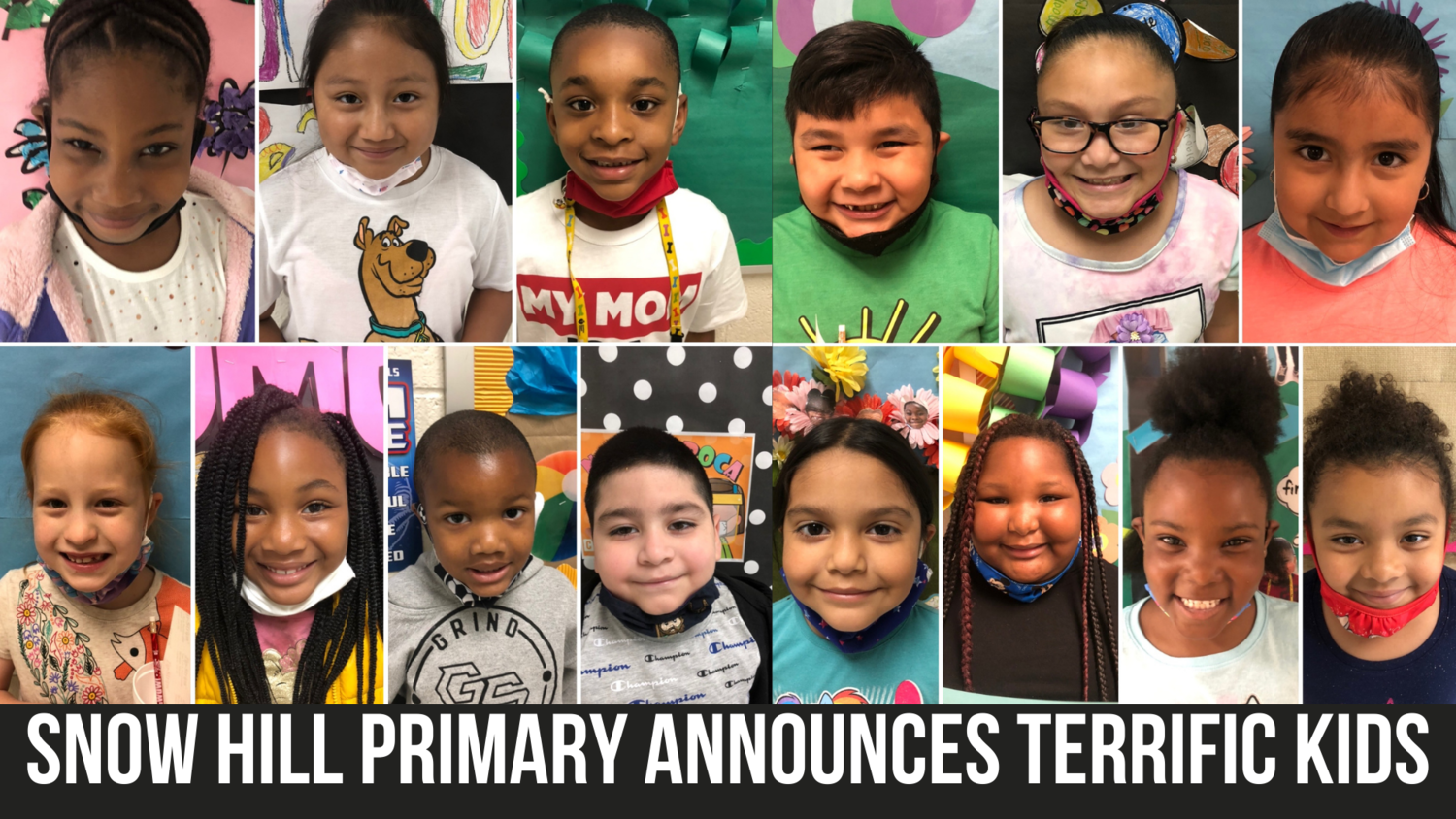 Snow Hill Primary announces Terrific Kids — Neuse News