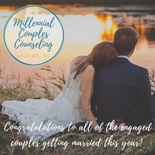 Congratulations to all the engaged couples getting married in 2019! I have a few spots available for premarital counseling. If you are interested in learning more visit millennialcouplescounseling.com or send me an email at jillian@millennialcouplescounseling.com ❤️💍👰🤵 👰👰 🤵🤵💍❤️