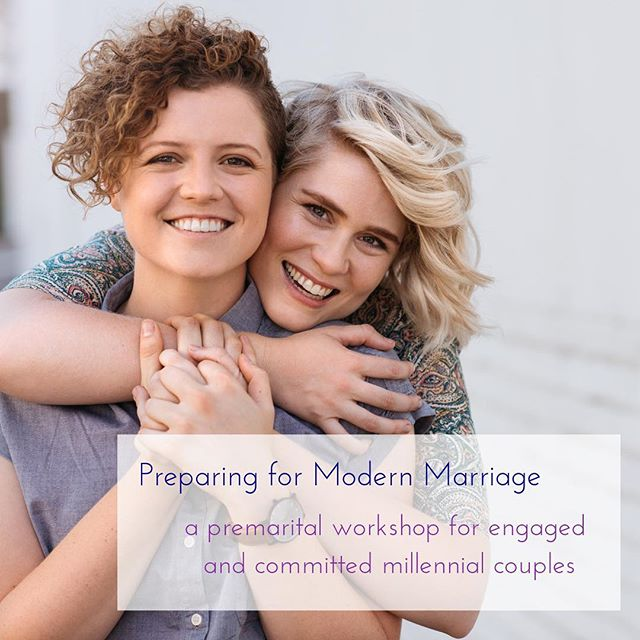 Premarital Workshop for Millennial Couples 💍💍 May 26th 9am - 4pm ✨ The Cannon Room in Downtown Raleigh 🤵🤵 💕👰👰 💕🤵👰💕 Link in bio! ✨ PREPARING FOR MODERN MARRIAGE is designed to provide busy young couples with a unique one-day premarital experience that is tailored to the needs of each couple. This workshop is a good fit for happy couples who are looking for an alternative to traditional premarital counseling and are open to learning and sharing with other millennial couples who are at a similar stage in their relationship.  Premarital counseling is an opportunity to prepare for the commitment of marriage. Couples who participate in premarital counseling find that discussing important relationship topics, learning helpful skills and tools for communicating and resolving conflict, and assessing their relationship strengths and growth areas helps them to feel closer and more confident in their partnership prior to walking down the aisle.  @cannonroomraleigh