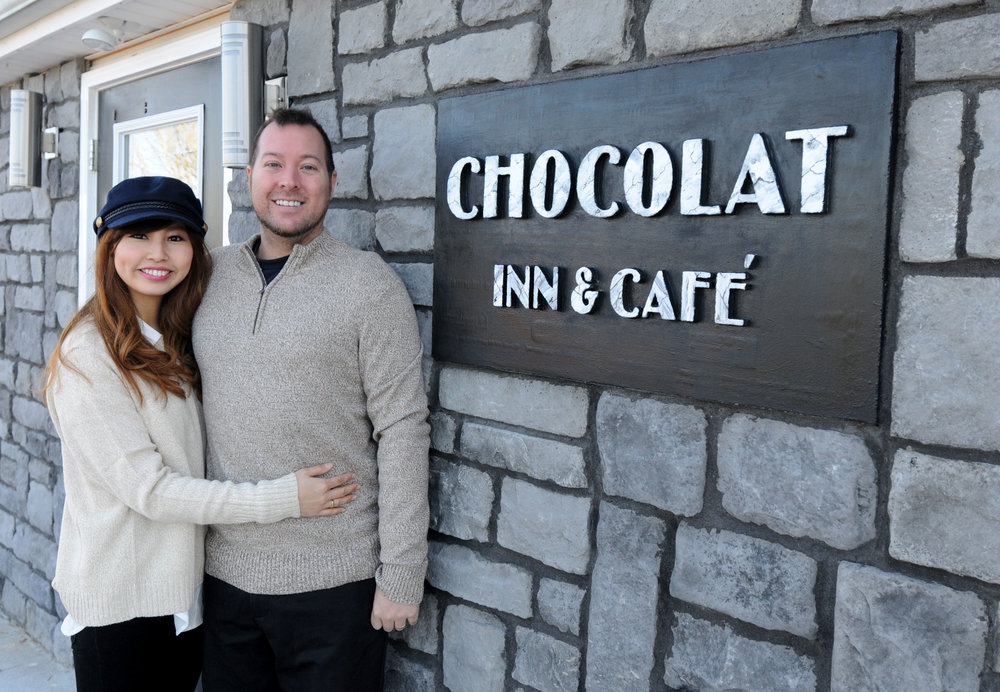 Dustin and Mai Cornett I Owners of The Chocolat Inn and Café I Beattyville, Ky