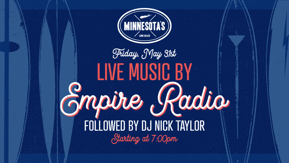 Fluer for live music with Empire Radio on Friday, May 31st