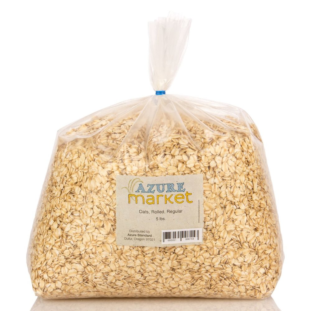 25 pound bag of Rolled Oats