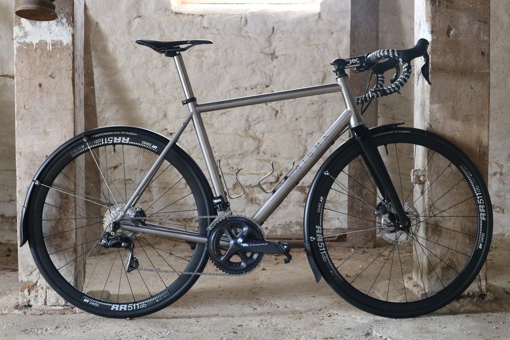 Andrews Etape - A luxury Winter bike option, better bike means better miles.