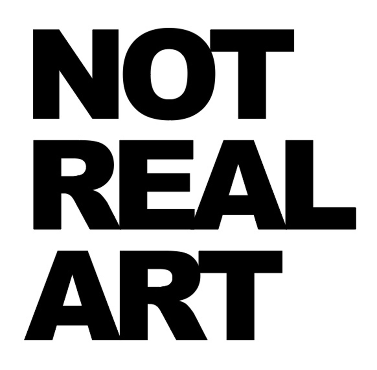 NOT REAL ART Conference