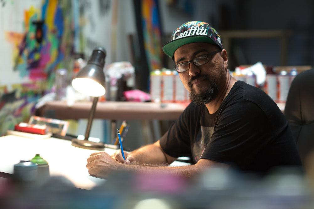 Man One - artist + activist