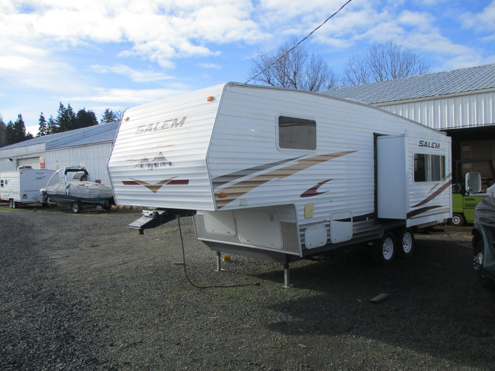 2008 Salem 5th Wheel 25'