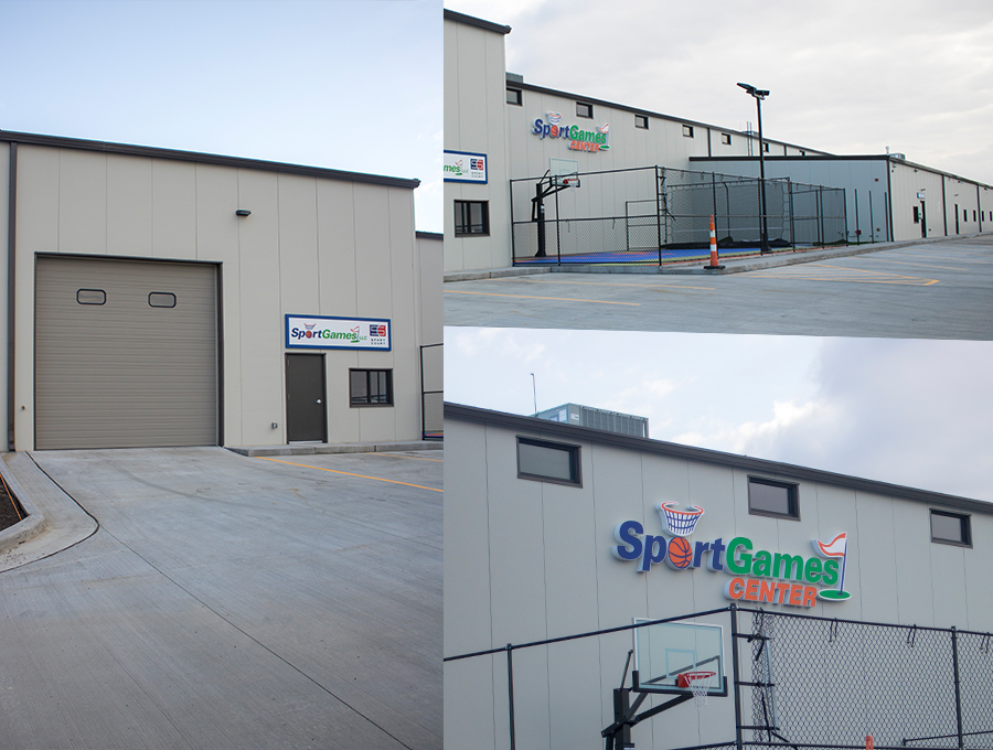 Sports Games - Very unique build including strategy for 5 different uses. From a Daycare to Commercial Storage.Worked closley with owner on all decisionsGeneral Contracted the entire projectConcrete and Building services provided by RaecoAgressive timeframe and budget met.