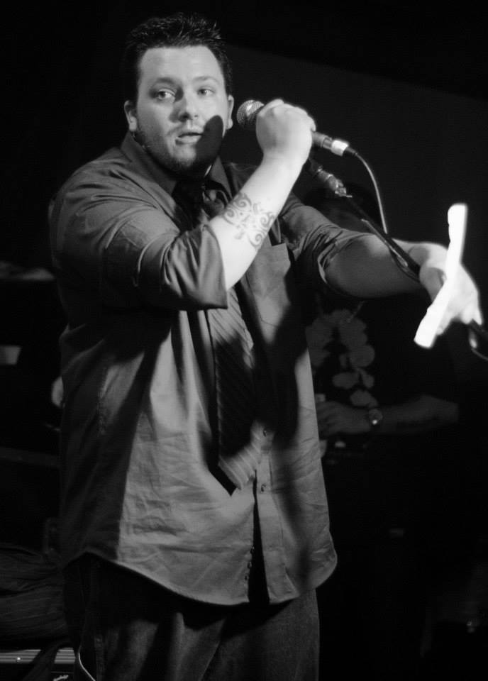 Show Creator & Host Nick Meyers doing hosting duties.  *Photo Credit: Glimpse Magazine