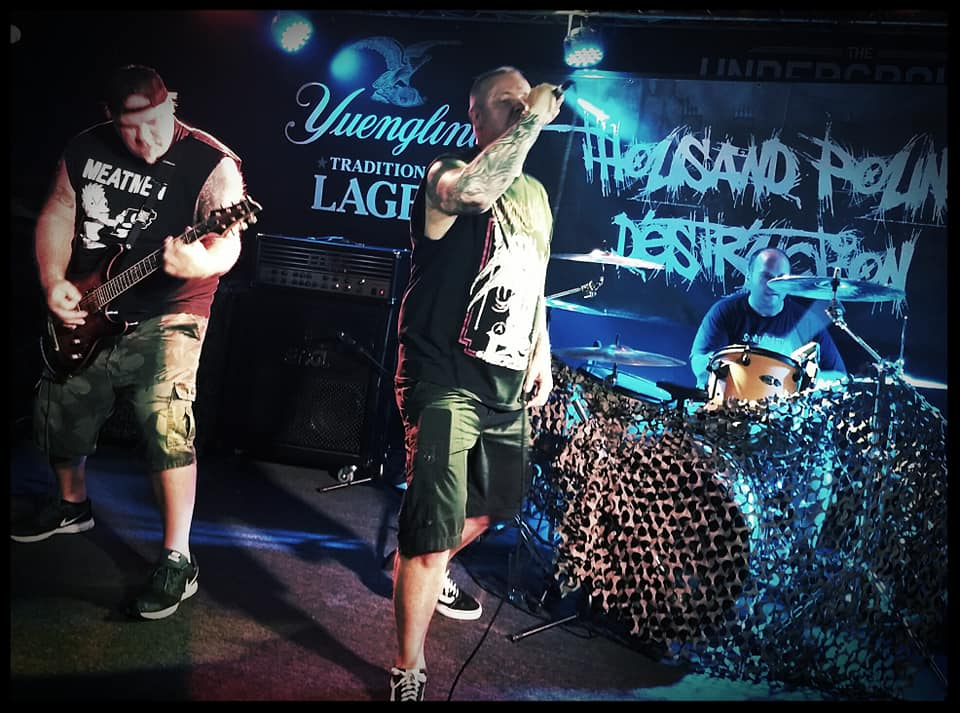 Thousand Pound Destruction kick off August Assault at Cliffs Tavern.  Photo Credit; 717 Entertainment.