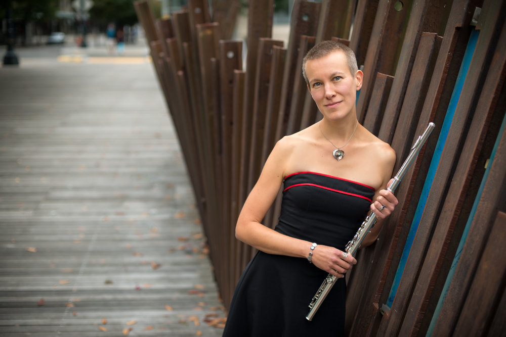 Molly Barth, flute - Described as