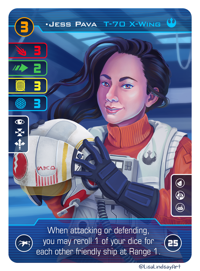 Jess Pava Alt Card Art