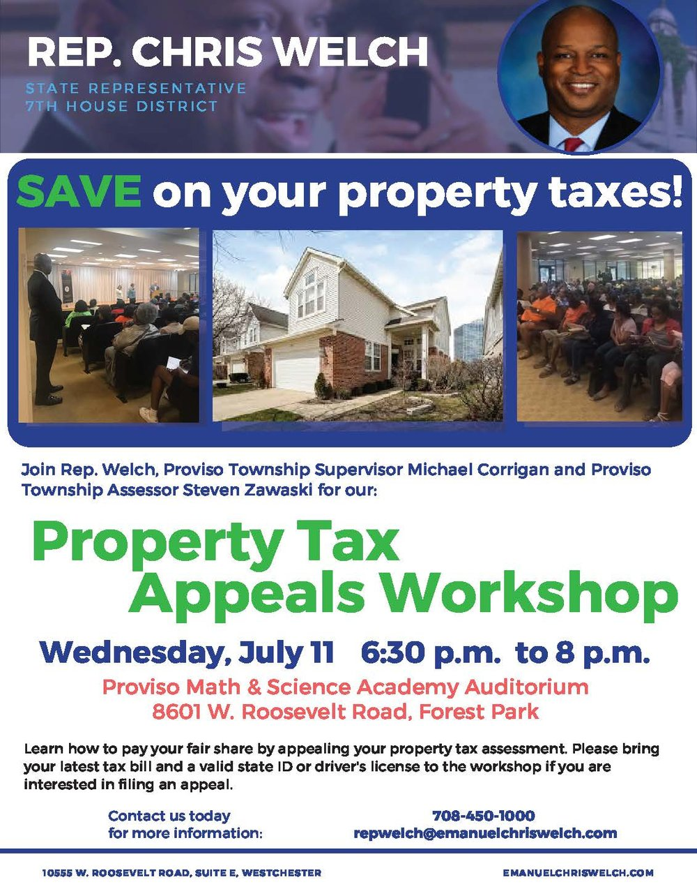 Rep. Chris Welch property tax workshop.jpg