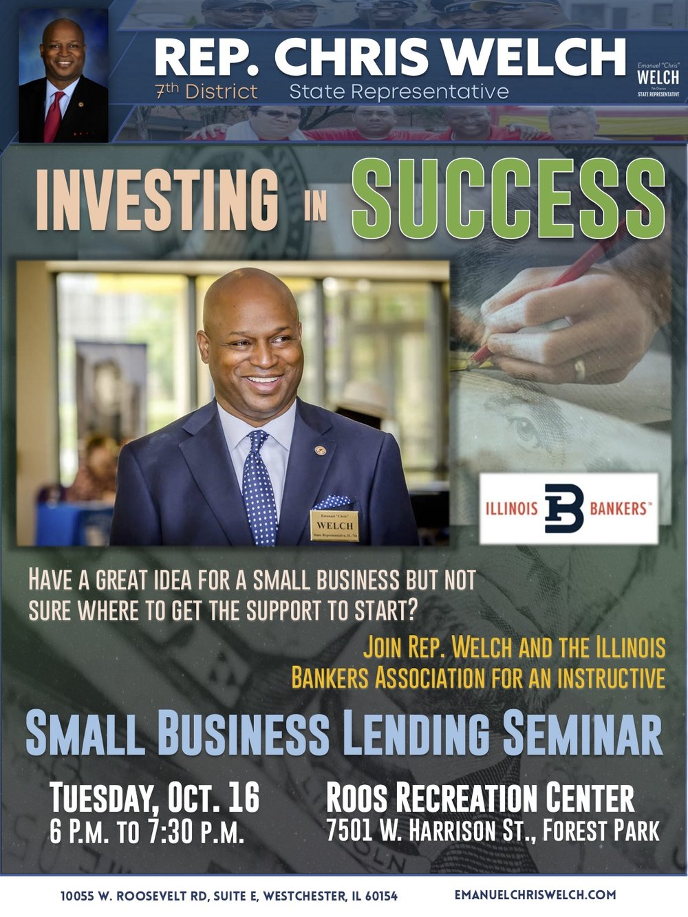 Rep. Welch small business seminar flyer Oct 2018.jpg