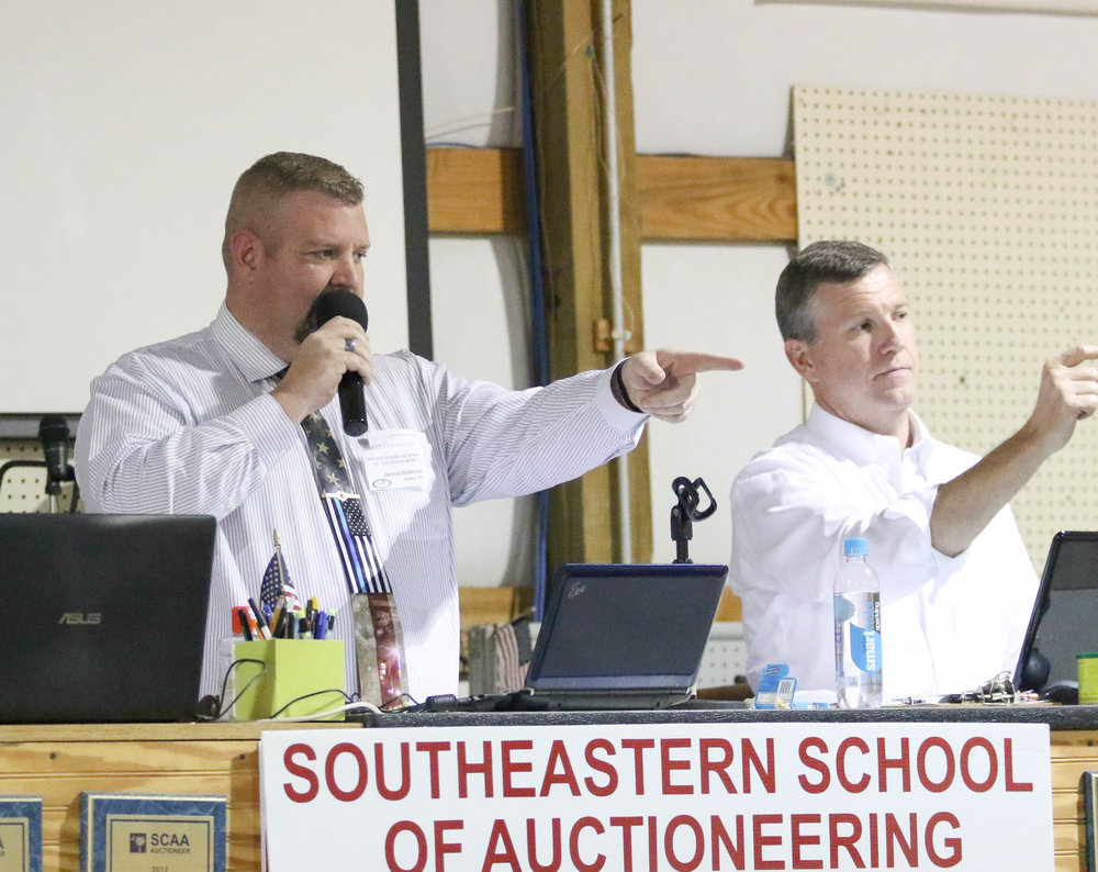 Auctioneer training