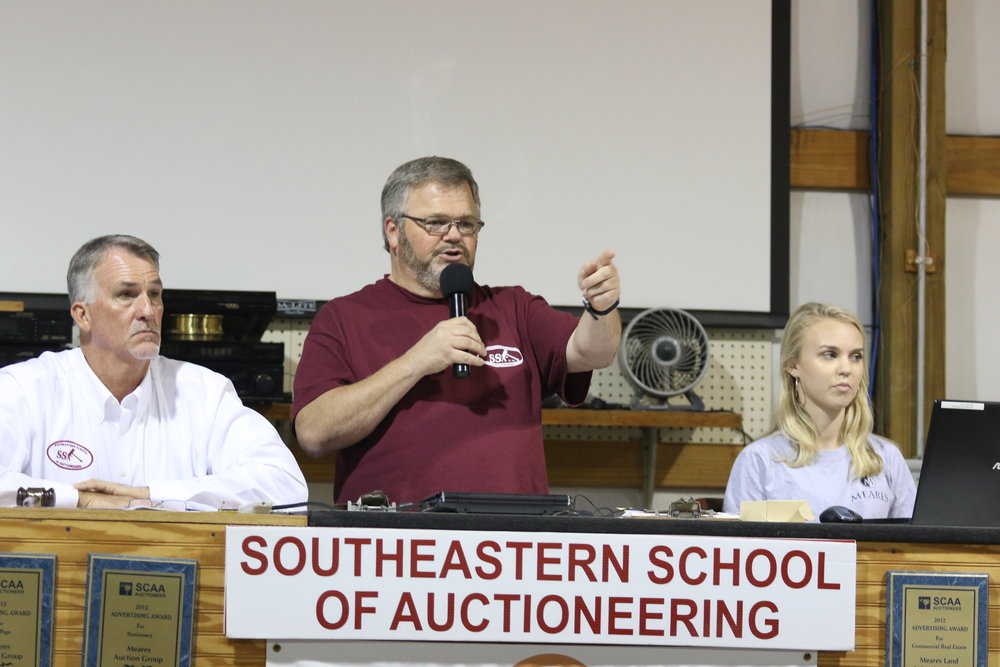 Auctioneering School October 2018