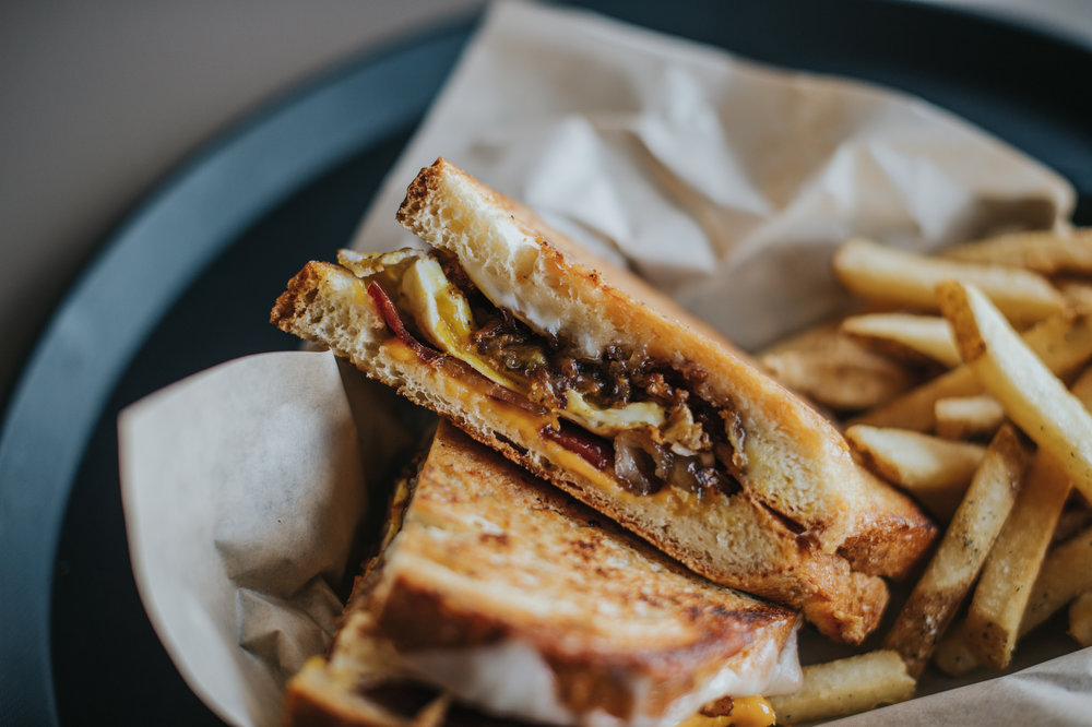 ultimate grilled cheese -