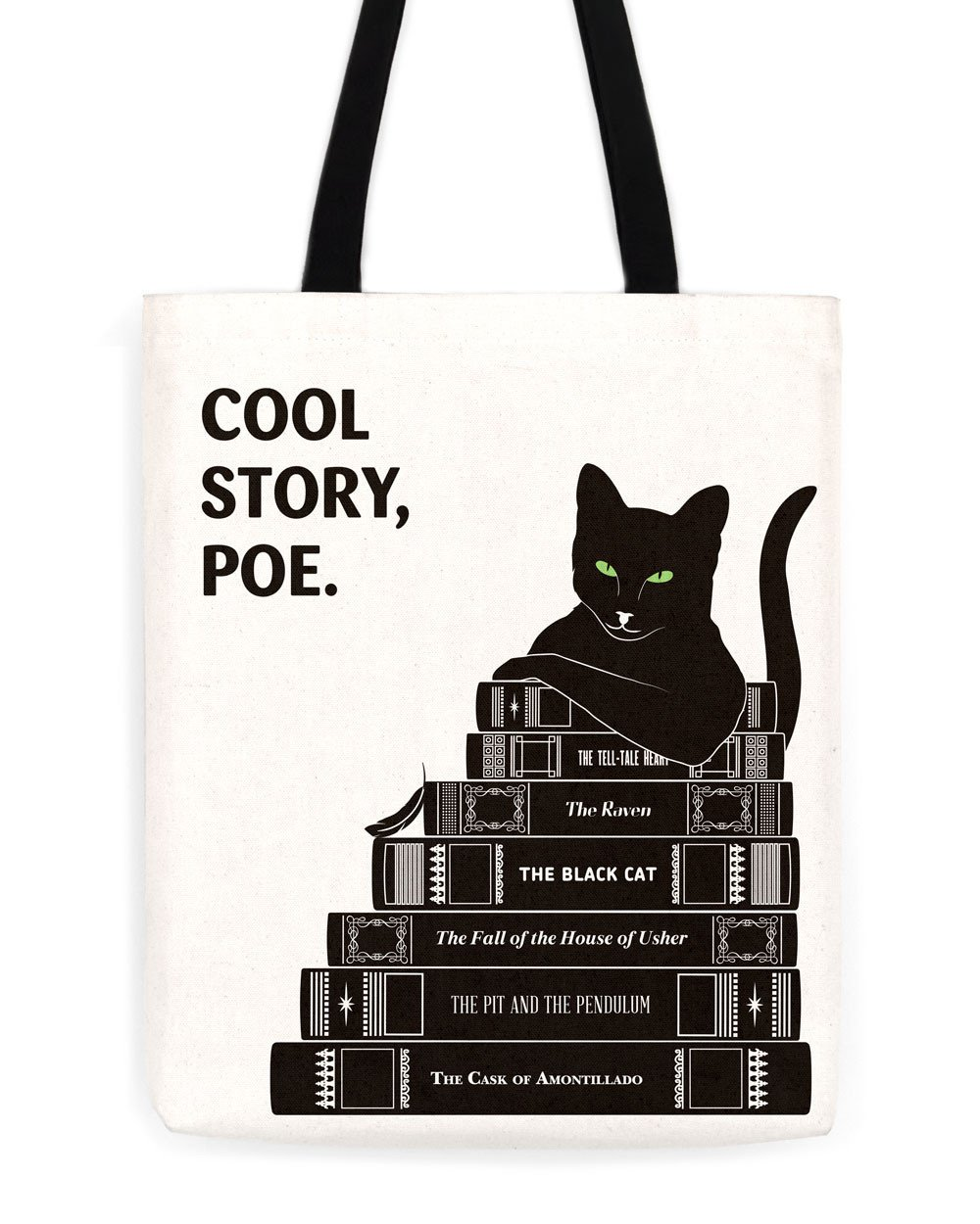 This tote from Obvious State for the cat-loving, Poe-reading person in your life