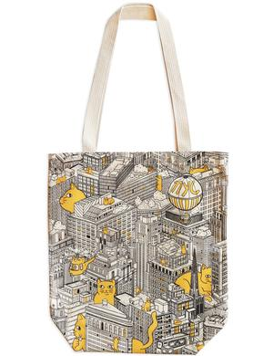 This fun tote from The Strand Bookstore in New York featuring our favorite felines