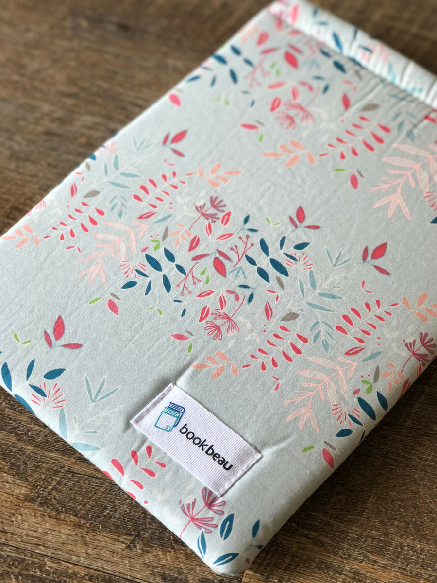This dreamy, protective book sleeve from Book Beau
