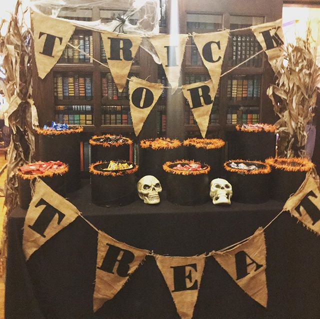 @arkosdesign brings the party!!! #halloween🎃 #arkosdesign #carnegielibraryevents