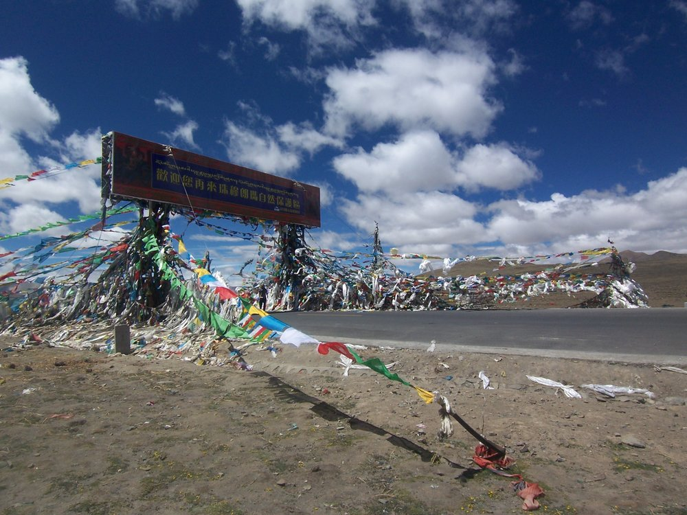 Gate of a Himalayan Mountain Pass, Tibet, Laura B. Greig 2008