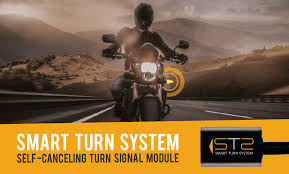 Smart turn signal cancelling - By transmitting misleading information to other road users, forgetting to cancel a turn indicator can be potentially dangerous. The Smart Turn System is a self-canceling device for motorcycles, designed to accurately determine when a maneuver has been completed before switching off the indicators.