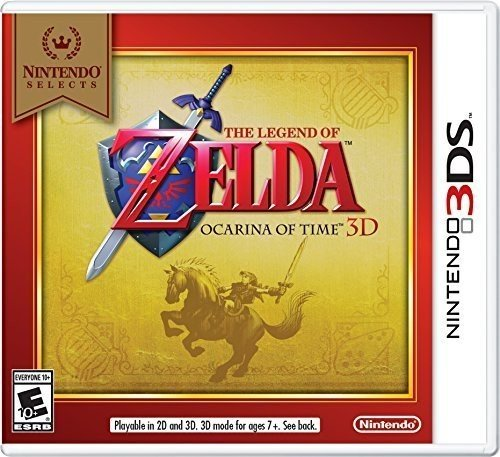 Nintendo Selects: The Legend of Zelda Ocarina of Time 3D - $19 - $0.99 off or 5%