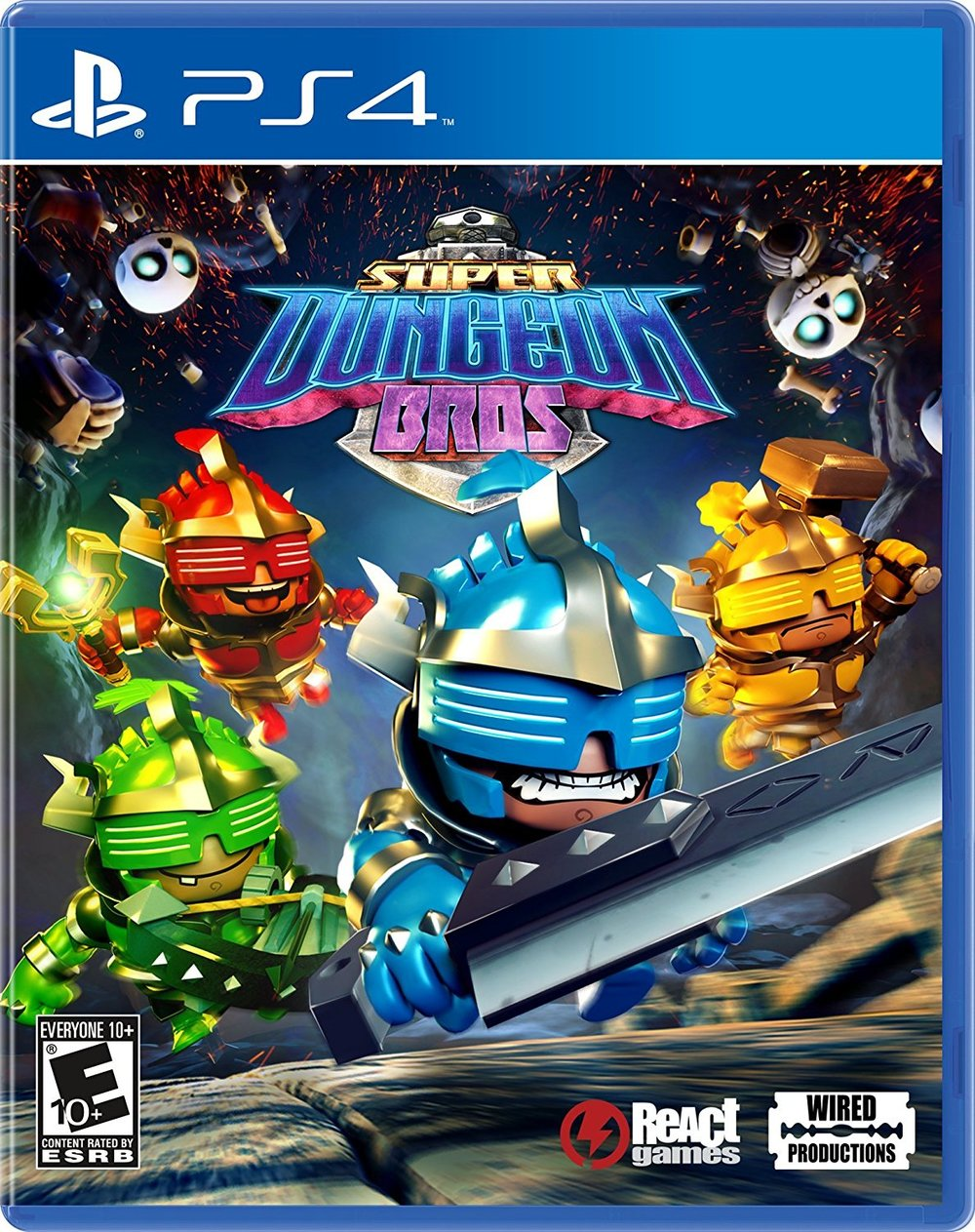 Super Dungeon Bros - PlayStation 4 - $14.44 - $5.55 off or 28%