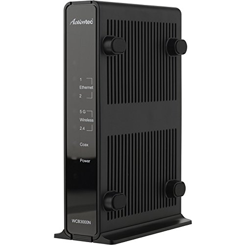 Actiontec Single Dual-Band Wireless Network Extender and Ethernet Over Coax Adapter (WCB3000N) - $12.90