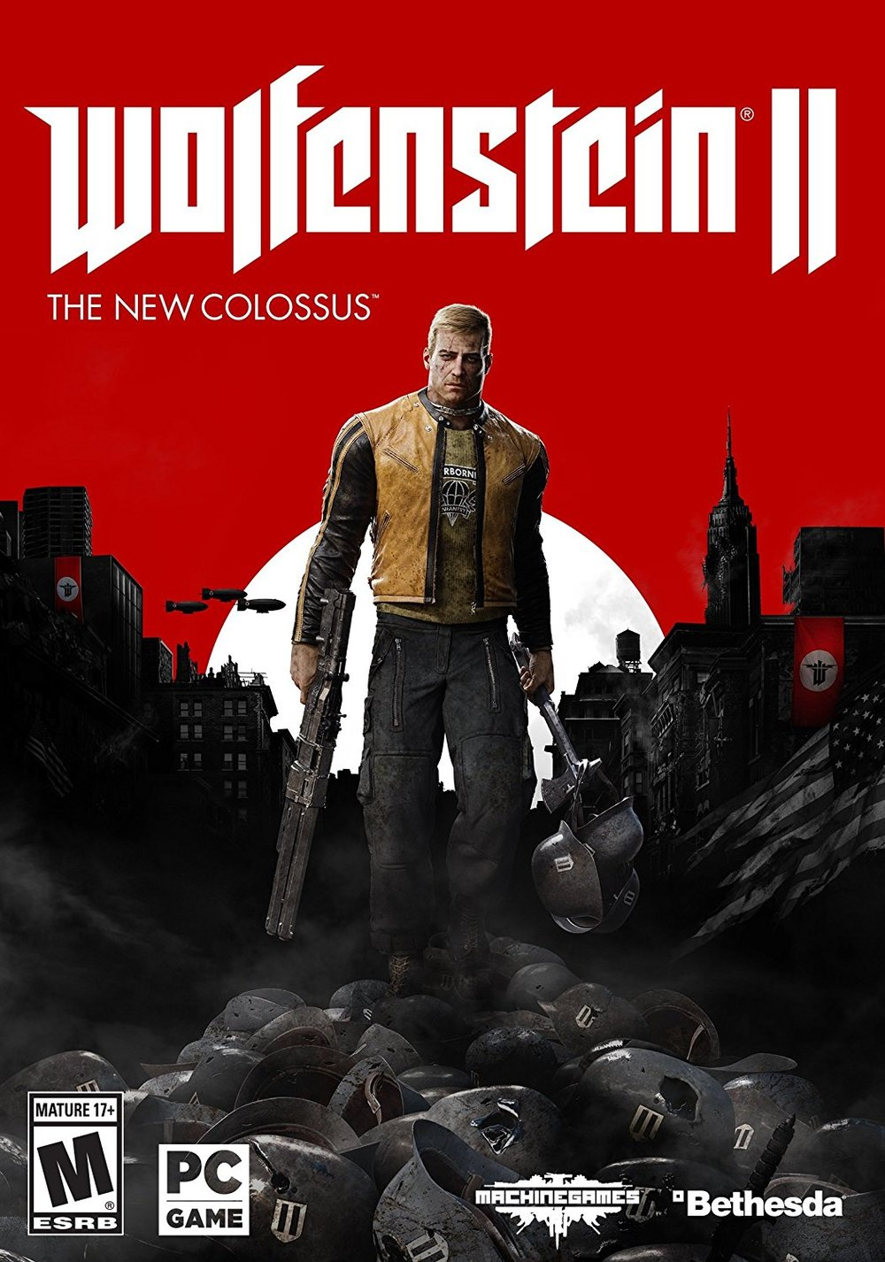Wolfenstein II: The New Colossus - PC - - $19.99 - $20 off or 50%