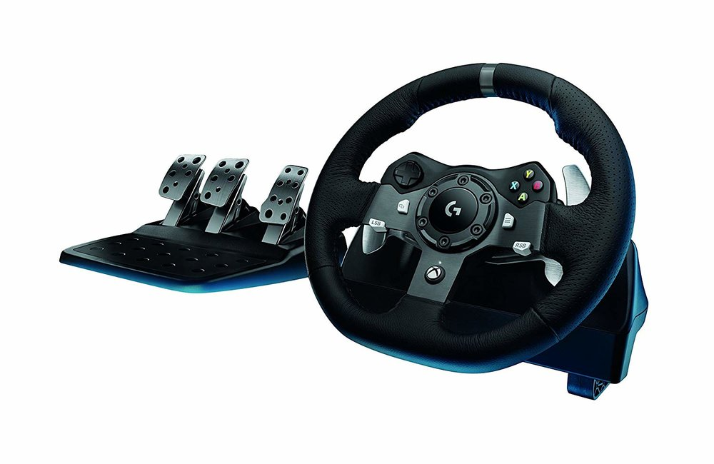 Logitech G920 Driving Force Racing Wheel - $218.47 - $181.52 off or 45%