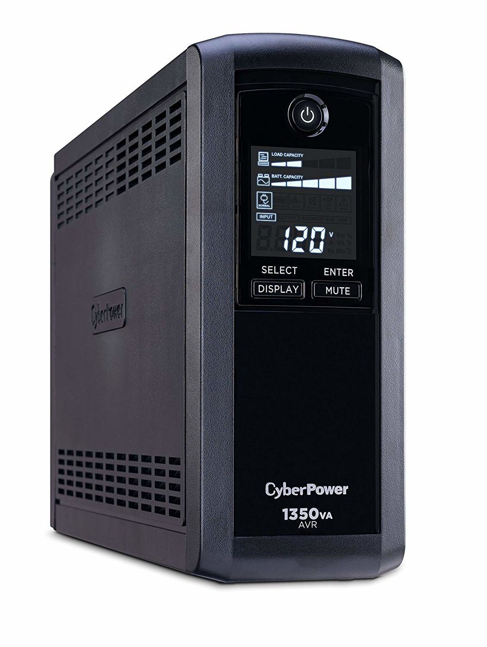 CyberPower Intelligent LCD UPS CP1350AVRLCD 1350 VA UPS - $134.95 - $21 off or 13%