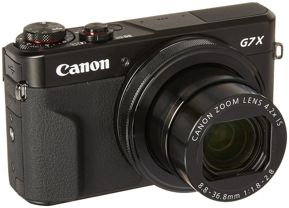 Canon PowerShot G7 X Mark II - $599 - $100.99 off or 14%