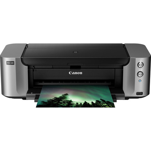 Canon PIXMA PRO-100 Wireless Professional Inkjet Photo Printer + Free Canon Photo Paper Pro Luster (13 x 19