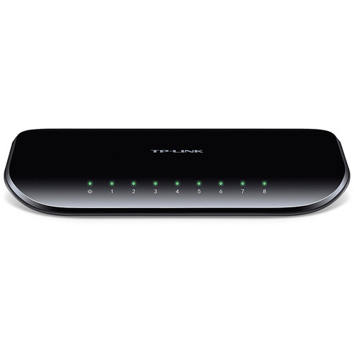 TP-Link TL-SG1008D 8-Port Unmanaged Gigabit Network Switch - $17.74 after coupon - $7.25 off or 29%