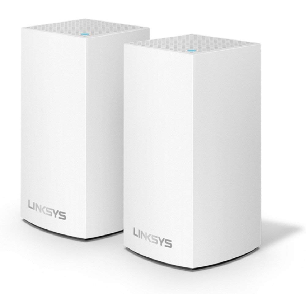 Linksys Velop AC1300 Dual-Band Whole Home WiFi Intelligent Mesh System (2-Pack) - $99.99 - $100 off or 50%