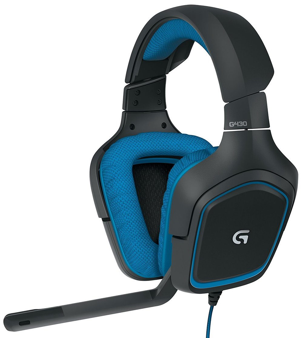 Logitech G430 - $38.35 - $41.64 off or 52%