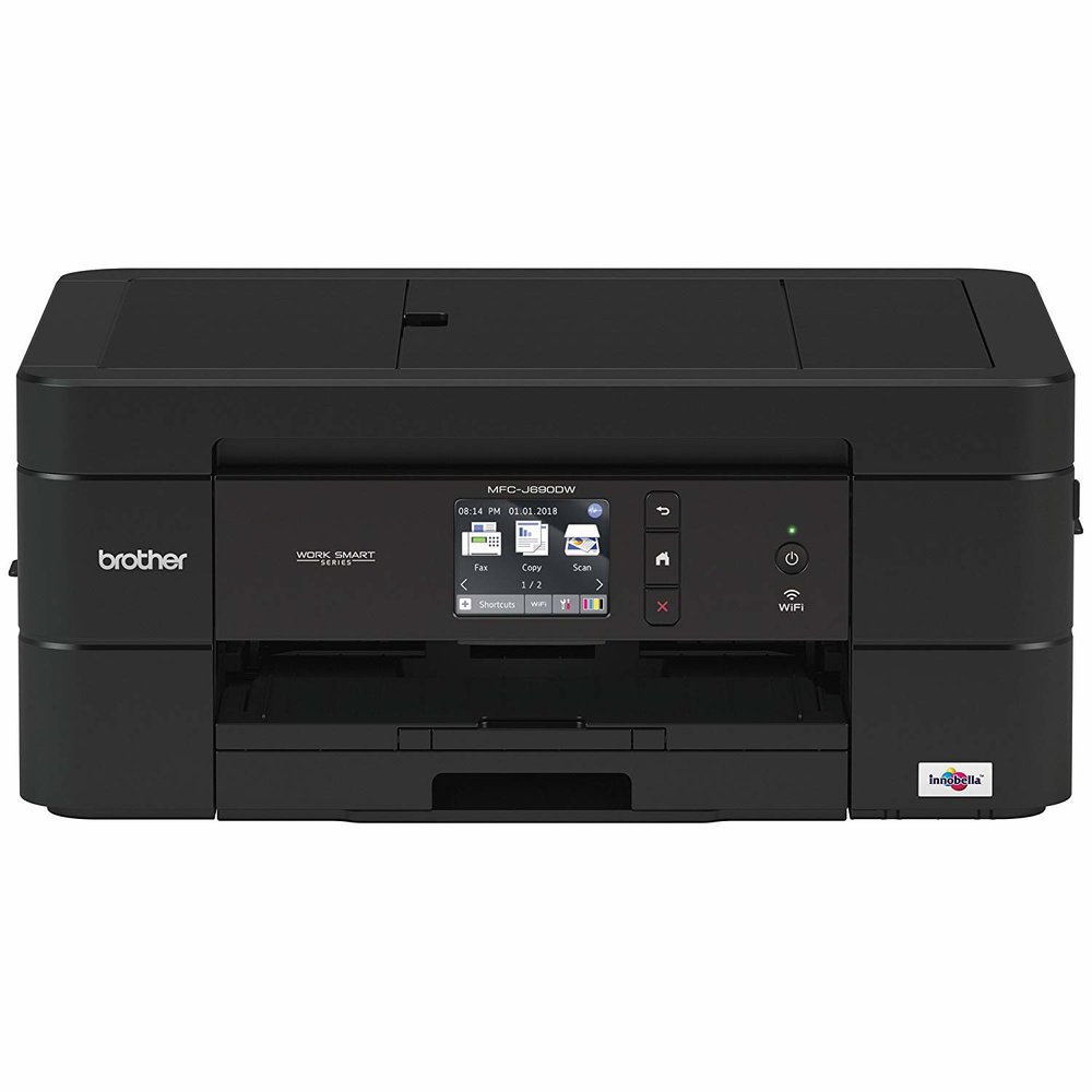 Brother MFC-J690DW Compact Color Wireless InkJet All-In-One Color Printer - $74.99 - $45 off or 38%