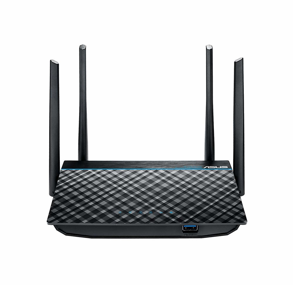 ASUS RT-ACRH13 Dual-Band 4-port Gigabit Router with MU-MIMO and USB 3.0 - $59.50 - $10.49 off or 15%