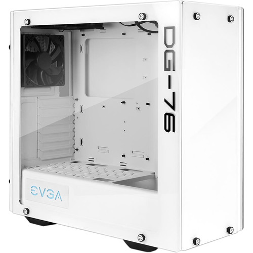 EVGA DG-76 - Alpine White, Tempered Glass, RGB LED - $134.46 - $15.53 off or 10%