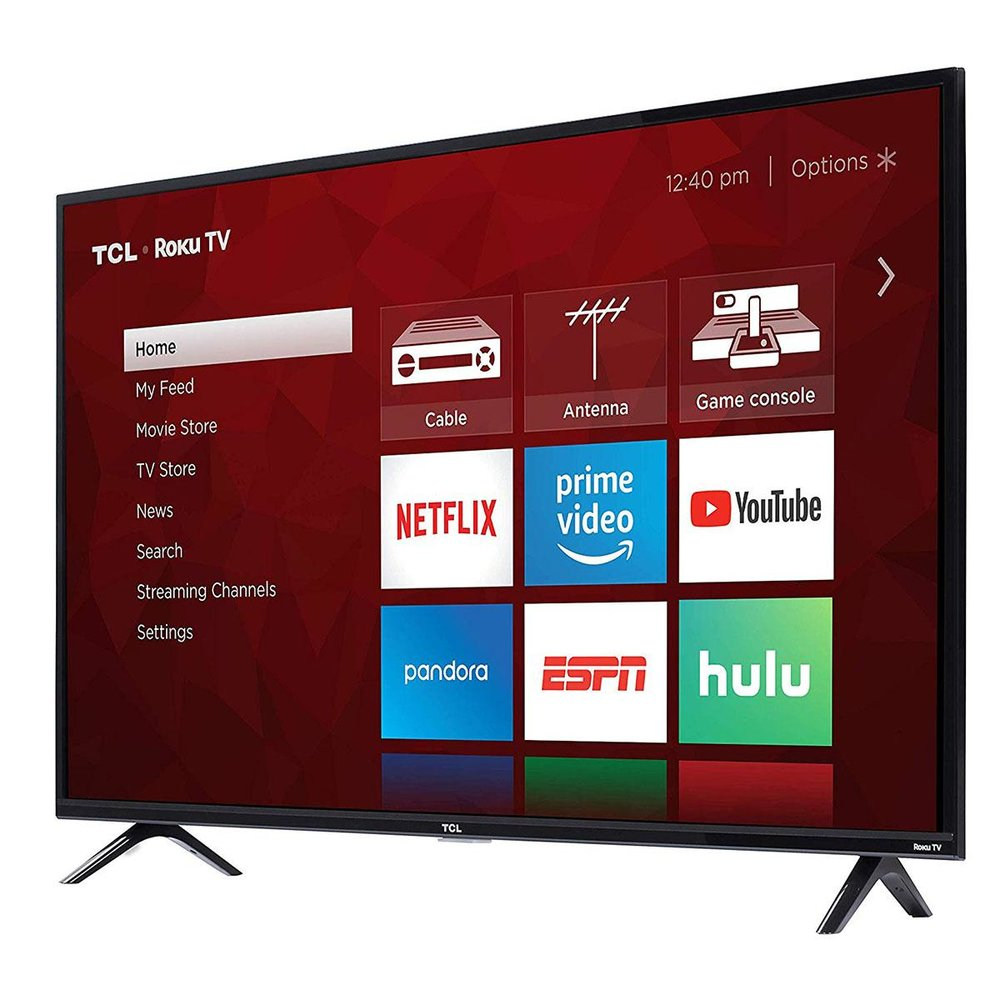 """TCL 49S325 49"""" 1080p Smart Roku LED TV (2019) - $219.99 - $60 off or 21%"""