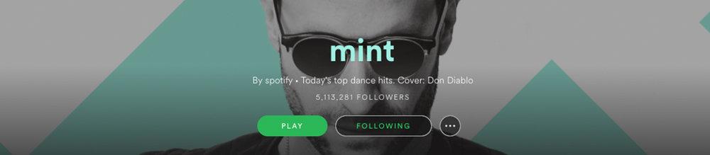Mint-Banner