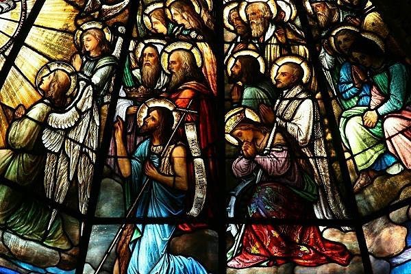 Happy Solemnity of All Saints!  It is a Holy Day of Obligation - mass times are Noon and 6:30pm!